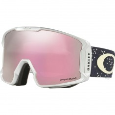 Oakley Line Miner Snowboard Goggles - Galaxy Iron Ice/Prizm Hi Pink