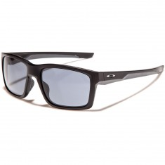 Oakley Mainlink Sunglasses - Matte Black/Grey