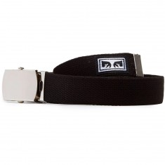 Obey Big Boy Web Belt - Black