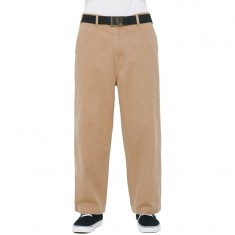 Obey Loiter Big Fits Pants - Khaki