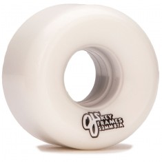 OJ Plain Jane Keyframe 87a Skateboard Wheels - White - 52mm