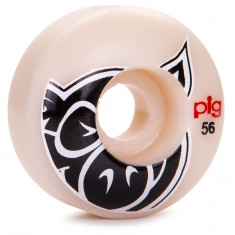 Pig Head Natural Skateboard Wheels - 56mm