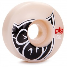 Pig Head Natural Skateboard Wheels - 60mm