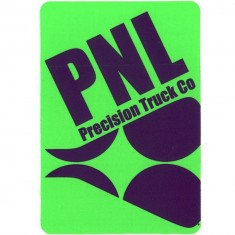 PNL Wheels Logo Sticker - Green
