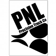 PNL Wheels Logo Sticker - White