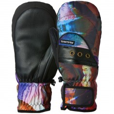 POW Astra Mitt Womens Snowboard Gloves - Glass