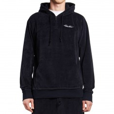 Primitive Velour Quarter Zip Hoodie - Midnight