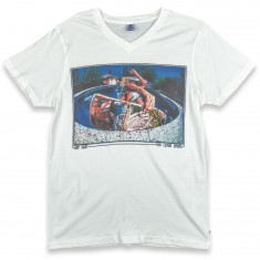 Push Culture Bowl Rider T-Shirt - White