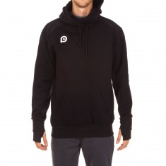 Push Culture Pullover Hoodie - Black