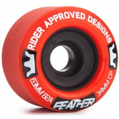 RAD Feather Longboard Wheels - 63mm