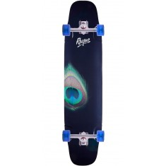 "Rayne Whip 41"" Peacock Longboard Complete"