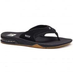 Reef Fanning Sandals - Black/Silver