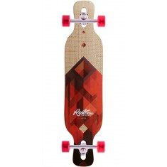 Restless Shredder Code Red Longboard Complete - 2017