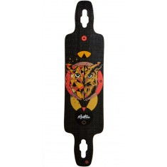 Restless Splinter 40 Owl Longboard Deck - 2017