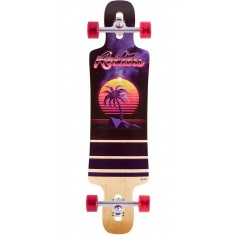 Restless Splinter 38 Wood Palm Tree Longboard Complete