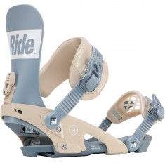 Ride Rodeo Snowboard Bindings 2018 - Blue Steel