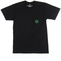 Roark Safe Camp Pocket T-Shirt - Black/Green