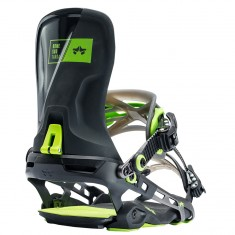 Rome Targa Snowboard Bindings 2018 - Black Acid