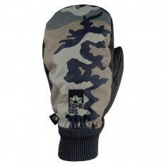 Rome Trench Mitt Snowboard Gloves - Camo