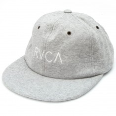 RVCA Brews 6 Panel Hat - Grey Heather
