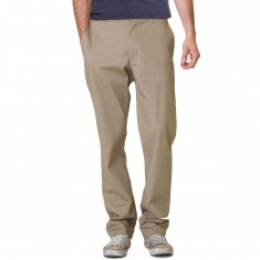 RVCA The Week-End Stretch Pants - Dark Khaki
