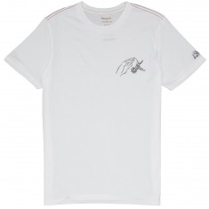 RVCA Trance T-Shirt - Antique White