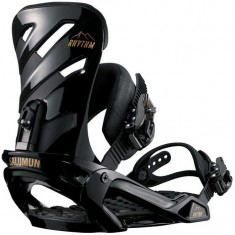 Salomon Rhythm Snowboard Bindings 2018 - Black