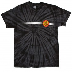 Santa Cruz Classic Dot T-Shirt - Spider Black