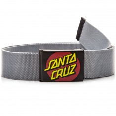 Santa Cruz Classic Dot Web Belt - Charcoal