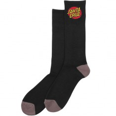 Santa Cruz Cruz Crew Socks - Black