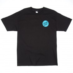 Santa Cruz Hand Regular T-Shirt - Black