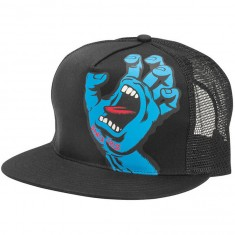 Santa Cruz Screaming Hand Trucker Mesh Hat - Black