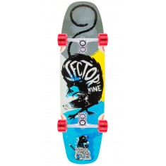 Sector 9 Barra Soap Longboard Complete - Blue