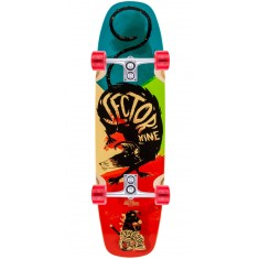 Sector 9 Barra Soap Longboard Complete - Red