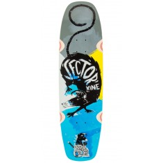 Sector 9 Barra Soap Longboard Deck - Blue