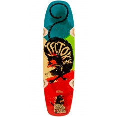 Sector 9 Barra Soap Longboard Deck - Red