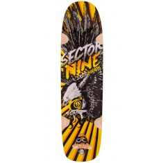 Sector 9 Budro 36 Longboard Deck - 2015 - Yellow