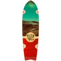 Sector 9 Floater Longboard Deck - Red