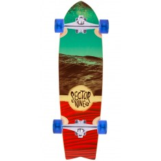 Sector 9 Floater Longboard Complete - Red
