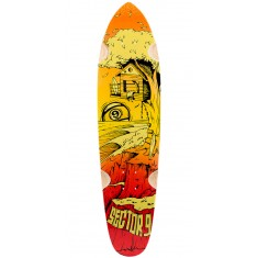 Sector 9 Getaway Longboard Deck 2016 - Red