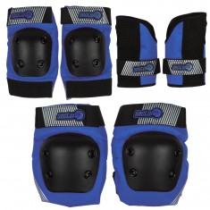 Sector 9 Jr Pursuit Pads Set - Blue