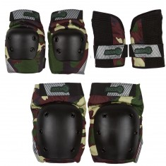 Sector 9 Jr Pursuit Pads Set - Camo