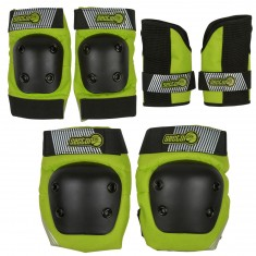 Sector 9 Jr Pursuit Pads Set - Green