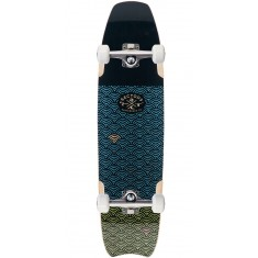 Sector 9 Shark Bite Longboard Complete - Blue - 2017