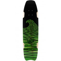 Sector 9 Shark Bite Longboard Deck - Green