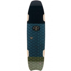 Sector 9 Shark Bite Longboard Deck - Blue - 2017