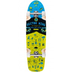 Sector 9 Shindig Longboard Complete - Green