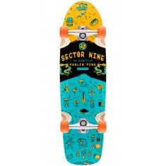 Sector 9 Shindig Longboard Complete - Orange - Blem
