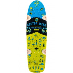Sector 9 Shindig Longboard Deck 2016 - Green
