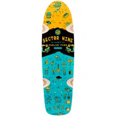 Sector 9 Shindig Longboard Deck - Orange